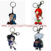 Buy cheap Hot Sales Cartoon Person PVC Keychains for Gifts/Lover from wholesalers