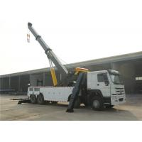 Buy cheap 8x4 12 Wheels 371hp Wrecker Tow Truck Heavy Duty 50 Tons Road Recovery Truck from wholesalers