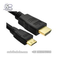 Buy cheap High Definition 1080P 1 meter to 3 meters HDMI to Mini HDMI Cables for TV, slingbox, or computers from wholesalers