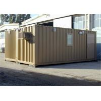 Buy cheap Demountable Recycled Affordable Prefab Steel Framed Houses for Living from wholesalers