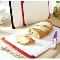 Buy cheap White 2pcs non slip plastic cutting boards for bread from wholesalers