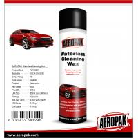 Buy cheap AEROPAK 500ML aerosol spray can Waterless Cleaning Wax for car cleaning from wholesalers