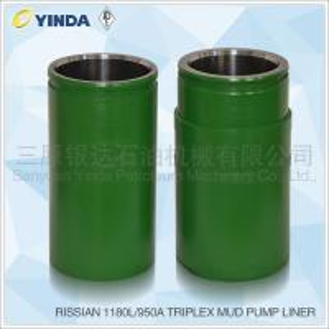 Wholesale 1180L/950A Triplex Mud Pump Accessories Bimetal Liner API-7K Certified from china suppliers