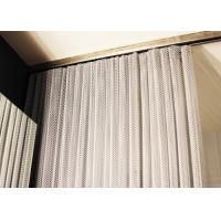 Buy cheap Iso Aluminum Metal Coil Drapery , Coil Mesh Drapery For Space Partition from wholesalers