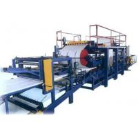 Buy cheap Eps / Rock Wool Sandwich Wall Panel Roll Forming Production Line / Machine from wholesalers