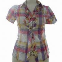 Buy cheap Ladies shirt, made of 100% cotton from wholesalers