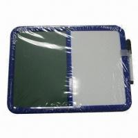Buy cheap Plastic Frame Combination Board (Chalk Board and Whiteboard) with Marker Pen from wholesalers