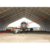 Buy cheap Flexible Design Prefabricated Steel Structure Aircraft Hangar Buildings Seismic Proof Construction from wholesalers