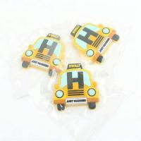 Buy cheap Injection Labels Private Custom 3D Cartoon Car Logo Soft PVC Rubber Fridge Magnets for Decoration from wholesalers