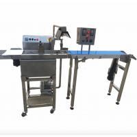 Buy cheap Food Grade Snack Food Making Machine , Chocolate Coating Machine Fully Automatic from wholesalers