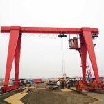 Buy cheap Portal 20 Ton 10 Ton Gantry Crane Electric Hoist Outdoor AC 380V Customized from wholesalers