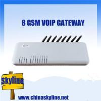 Buy cheap GOIP8, 8 channel voip gsm gateway call termination for PBX Asterisk from wholesalers