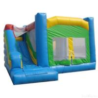 Wholesale Blue And Green Inflatable Bouncer House & Slide from china suppliers