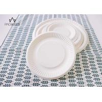 Wholesale Round White Takeaway Food Containers / Tray 8oz - 40oz Water Resistant For Cafes from china suppliers
