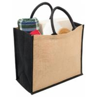 Buy cheap Sell reusable jute shopping bags can be recycled sacks from wholesalers