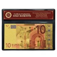 Buy cheap 166 * 76cm Souvenir Gold Plated Euro 10 Banknote For House Decoration from wholesalers
