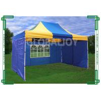 Buy cheap Iron / Aluminum Frames Gazebo Replacement Canopy 3 x 4.5m With 3 Sidewalls from wholesalers