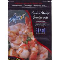 China Cooked shrimp Stand Up Pouch , Bottom Gusset Zipper Stand Bags for food on sale