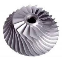 Wholesale Easy Assembly Titanium Compressor Wheel , Turbocharger Impeller Wheels from china suppliers