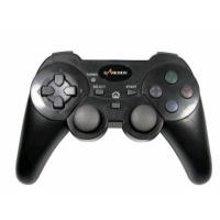 ABS 2.4G Sixaxis Wireless Playstation Controller , Double Vibration Feedback Playstation 3 Gamepad Manufactures
