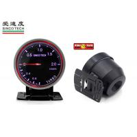 Buy cheap Universal Turbo Boost Gauge Purple Display with Permanent Magnet Motor from wholesalers