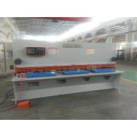 Buy cheap Electrical NC Hydraulic Guillotine Shear Plate Cutting Mahine from wholesalers