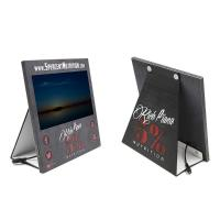 Buy cheap Cardboard counter display with 7 inch LCD screen, cardboard countertop display, POP up cardboard display stand from wholesalers