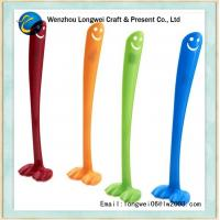 Buy cheap Smiley Plastic Shoe Horn Eco-friendly ABS , long handled shoe horn metal from wholesalers