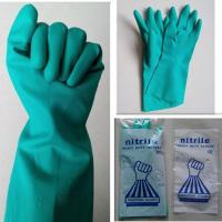 Wholesale Industry Safety Gloves/Chemical Resistance Safety Nitrile Gloves from china suppliers
