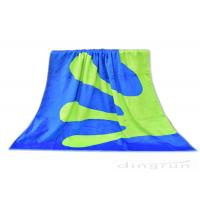 China Double Sided Custom Woven Beach Towels , 100% Cotton Beach Towels on sale