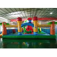 Buy cheap Kids Outdoor Inflatable Playground Equipment Anti UV Funny For Splash Park from wholesalers