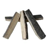 Buy cheap Split Real Fyre  Ceramic Fire Logs Sets High Performance Inorganic Binders from wholesalers