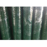 Buy cheap Green Hole PVC Wire Mesh Fence Panels Spot Welding For Highway / Warehouse from wholesalers