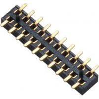Wholesale 2.00mm Female Header Connector Double Row SMT PA9T Black  Board to Wire connection from china suppliers