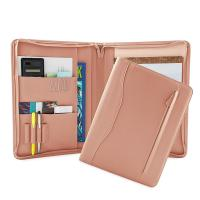Buy cheap PU Leather Portfolio Folder For Business People / College Students from wholesalers