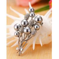 Buy cheap Korean Fashion Pretty Wedding Bouquet Brooch for Women in Jewelry Factory Direct 2015 from wholesalers
