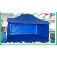 Buy cheap Aluminum / Iron Frames Gazebo Replacement Canopy 3 x 4.5m With 3 Sidewalls from wholesalers