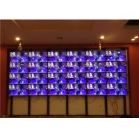 Buy cheap 6.7mm Indoor LED Video Wall Mounted With 46'' Super Narrow Bezel from wholesalers