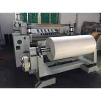 China 1300mm 1600mm slitting machine for transformer paper on sale