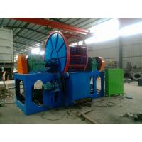 Wholesale Carbon Steel Double Power Scrap Tire Recycling Machine For Waste Rubber from china suppliers