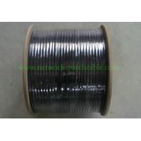 Wholesale Black 1000ft Cable SFTPCat 5e RoHSPVC Jacket Solid Network Cable from china suppliers