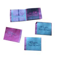 Buy cheap Durable Woven Neck Labels for lady clothing personized size color shrink proof from wholesalers