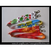 Buy cheap Open double-ended full color lanyards, custom heat-transferring logo lanyards from wholesalers