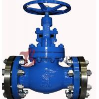 Buy cheap Industrial OS&Y Globe Valve Rising Stem Hardfaced 300LB Flanged / BW from wholesalers
