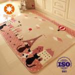 Buy cheap Anti - Slip Outdoor Carpet Rug With PVC Dots Felt Carpet Underlay Cartoon Pattern from wholesalers