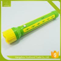 YG-1616 Long Rechargeable LED Flashlight Torch Light Manufactures