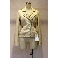 Buy cheap fashion hotsale design short women leather jacket for ladies/women pu jacket wholesale from wholesalers