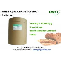 Wholesale Industrial Bakery Bread Enzymes High Activity  , Non - GMO Fungal Alpha Amylase from china suppliers