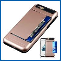 Buy cheap Credit ID Card Slot Slim Iphone 6 Protection Cases Armor Defender Case Shell from wholesalers