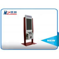 Buy cheap 32 inch self service payment kiosk with RFID card reader and bill acceptor from wholesalers